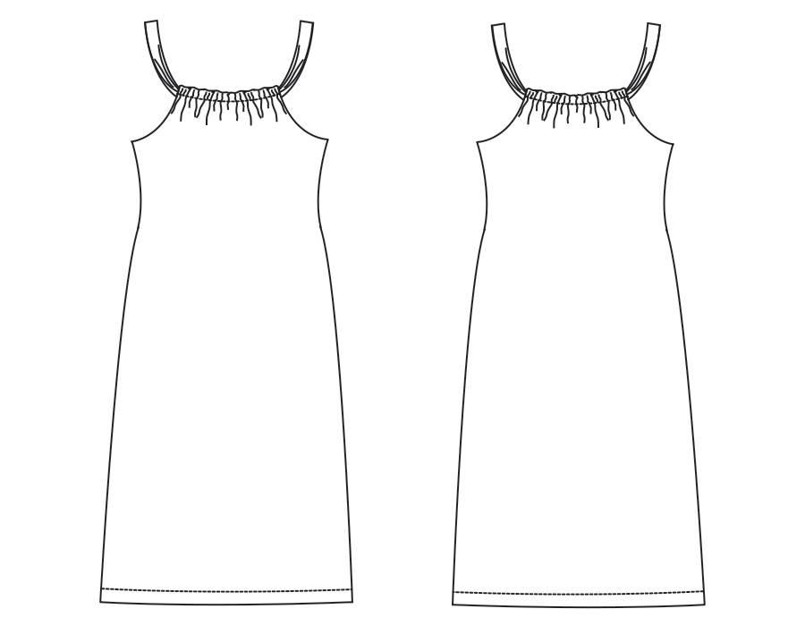 "S1004 Dress ""Wendy"""
