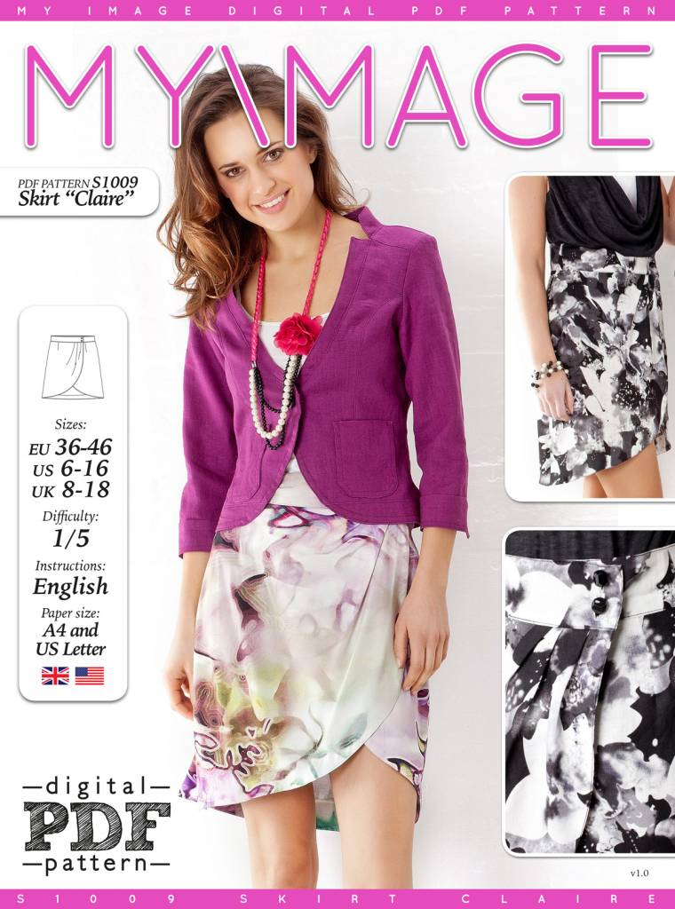 """S1009 Skirt """"Claire"""""""