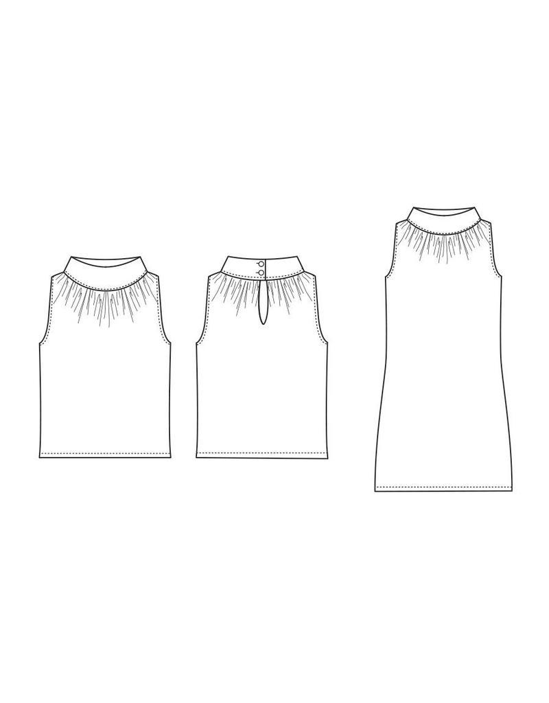 "S1010 Shirt/Kleid ""Lisa"""