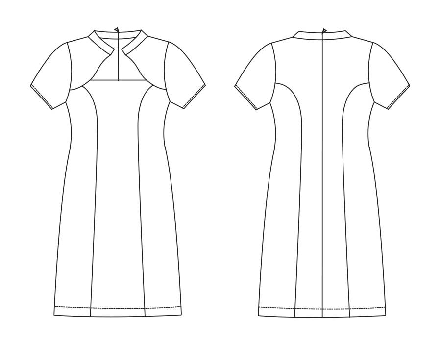 "S1015 Dress ""Rachelle"""