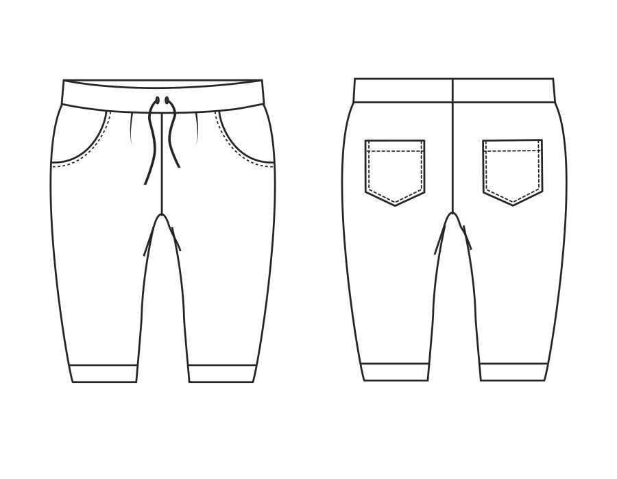 """P1004 Shorts """"May"""""""
