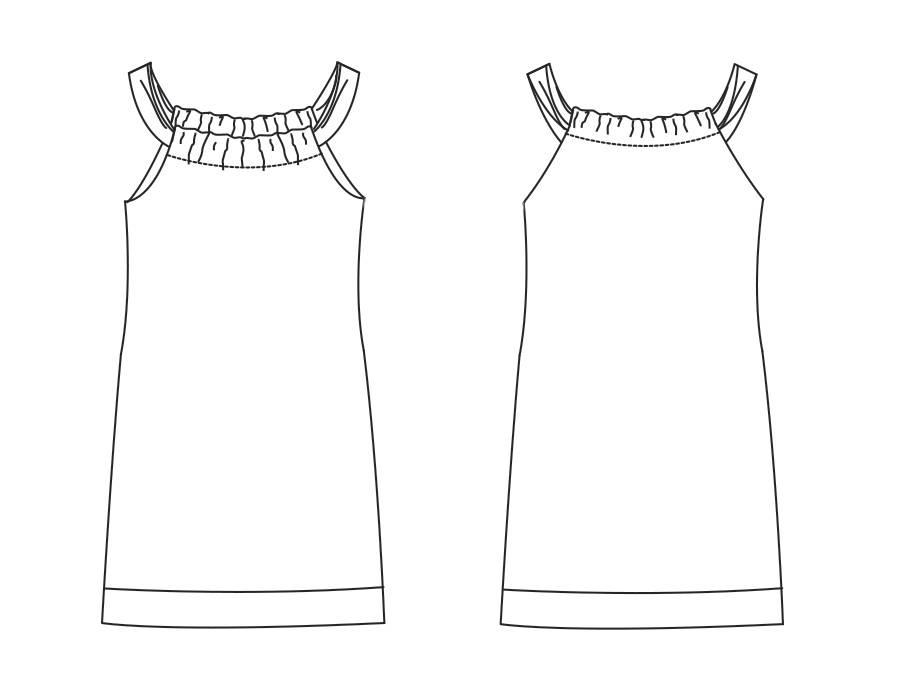 """K1002 Dress """"Beau"""""""