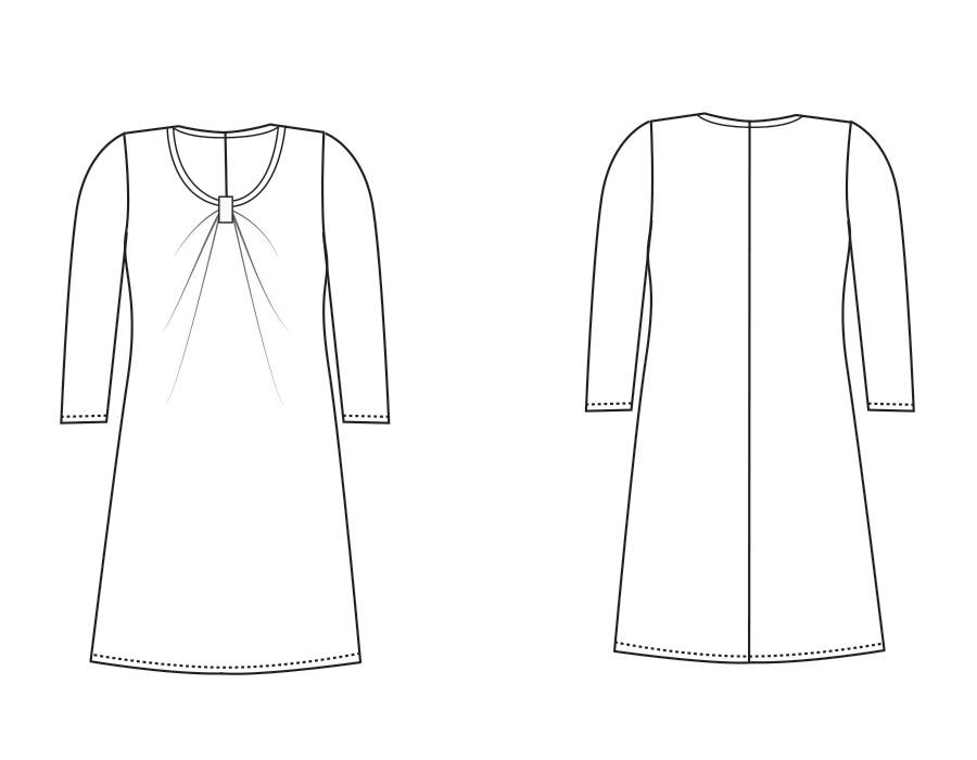 """S1034 Kleid """"Diana"""""""