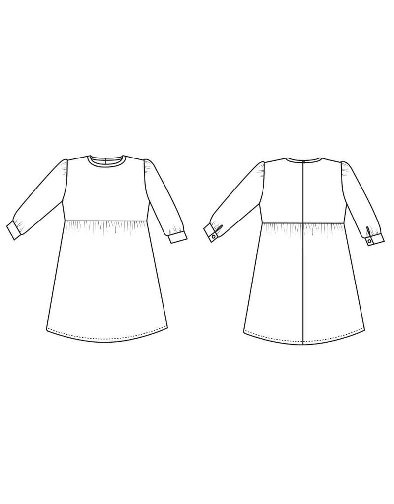 """P1015 Robe """"Ellen"""""""