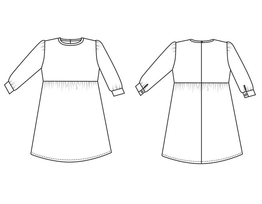 "P1015 Dress ""Ellen"""