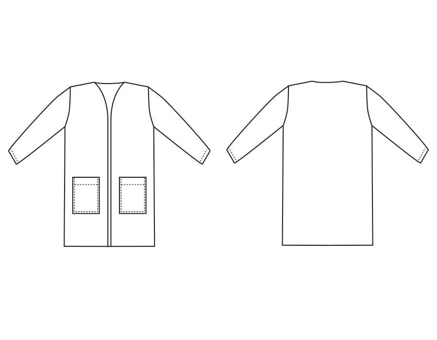 "P1016 Vest ""Holly"""