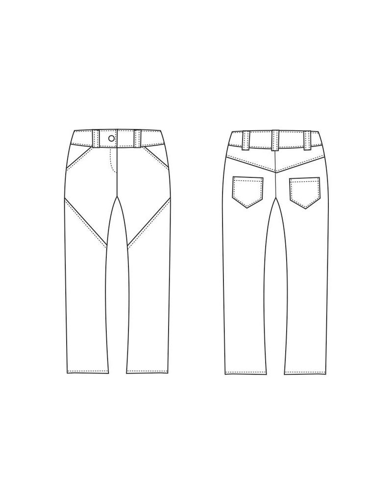"S1038 Pantalon ""Erica"""