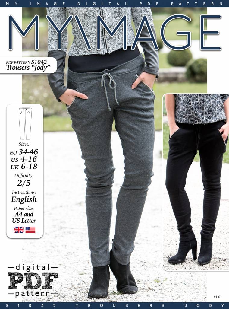 "S1042 Trousers ""Jody"""