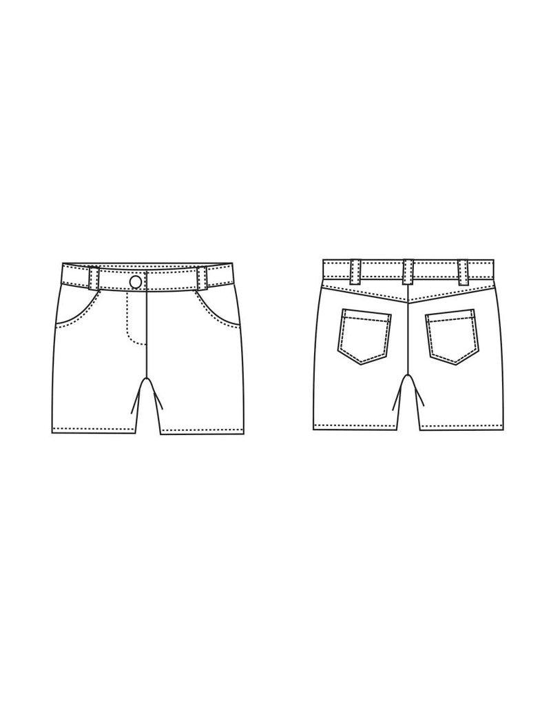 "S1044 Shorts ""Amber"""