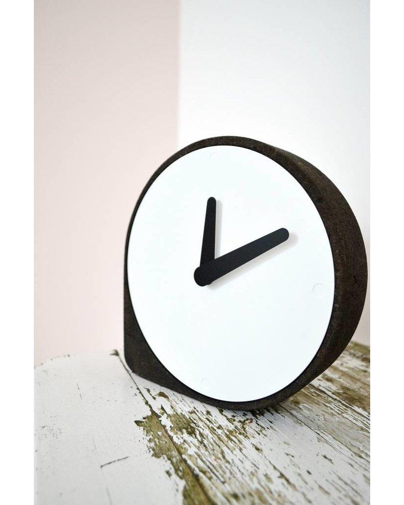 puik clork clock black