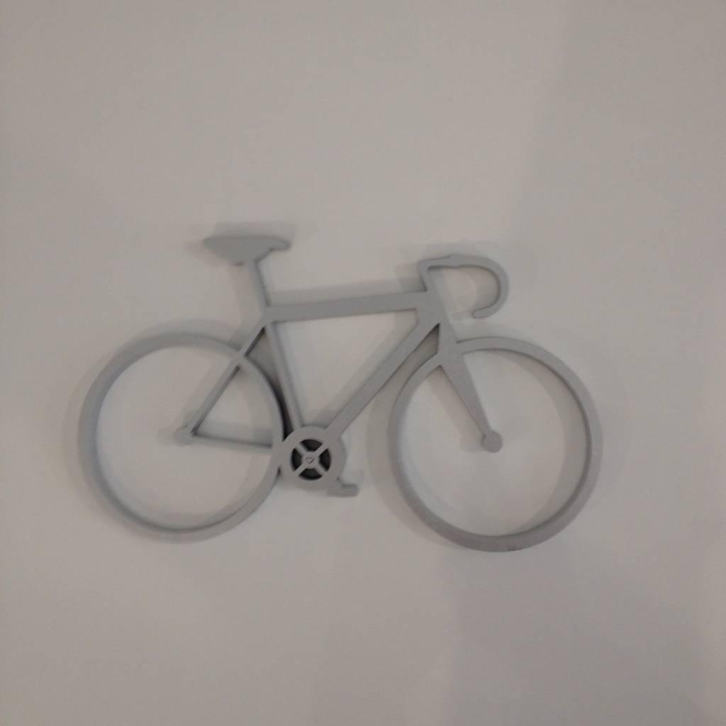 no gallery bike silver