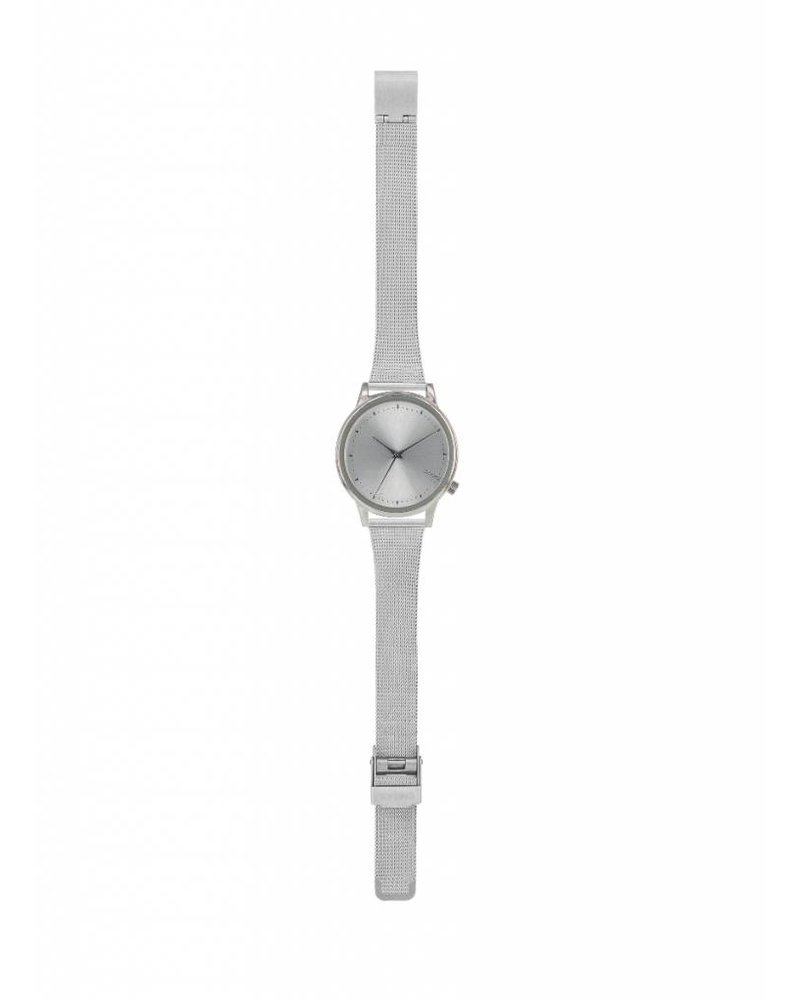 komono estelle royale silver watch