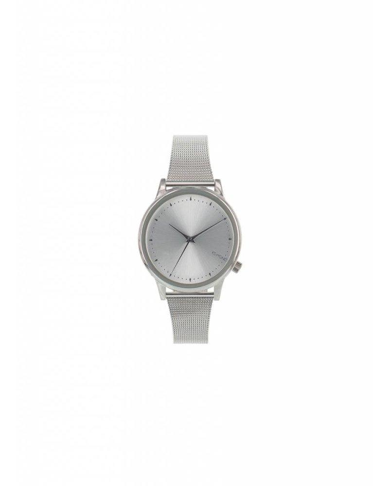 komono estelle royale silver watch