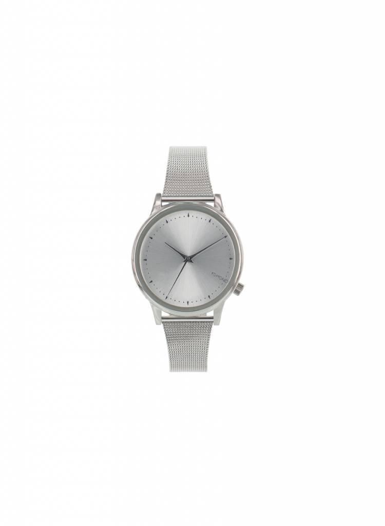komono estelle royale zilver horloge
