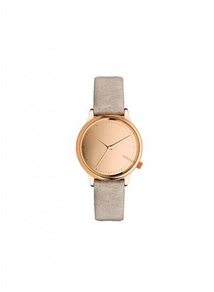 komono estelle mirror rose watch
