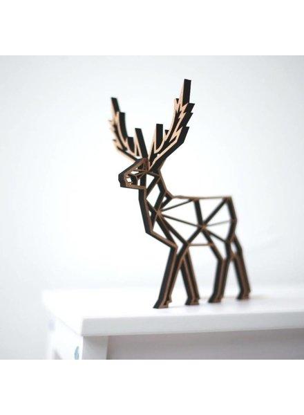 no gallery deer deco wood
