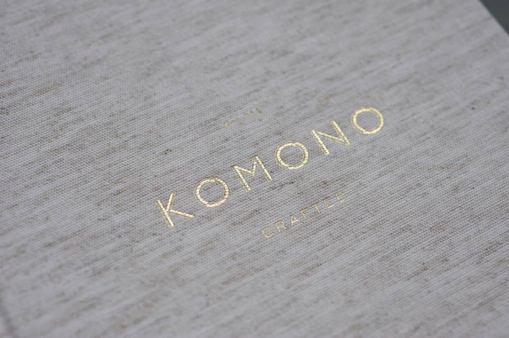 komono crafted taylor zonnebril wit goud