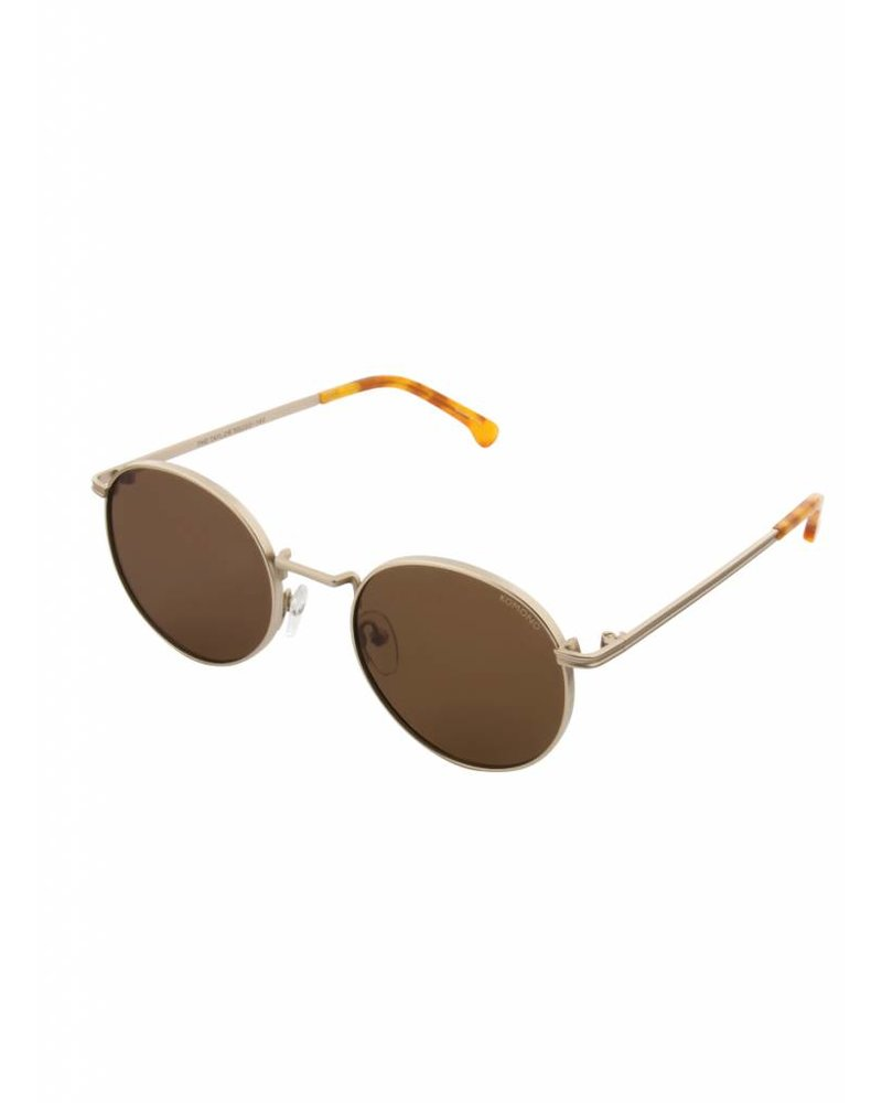 komono crafted taylor sunglasses white gold