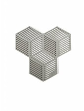puik sico coaster set grey
