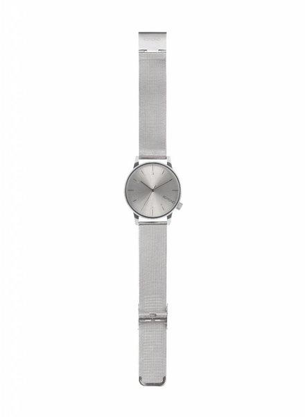 komono winston royale zilver horloge