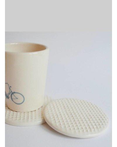 kesemy design stroopwafel coaster set