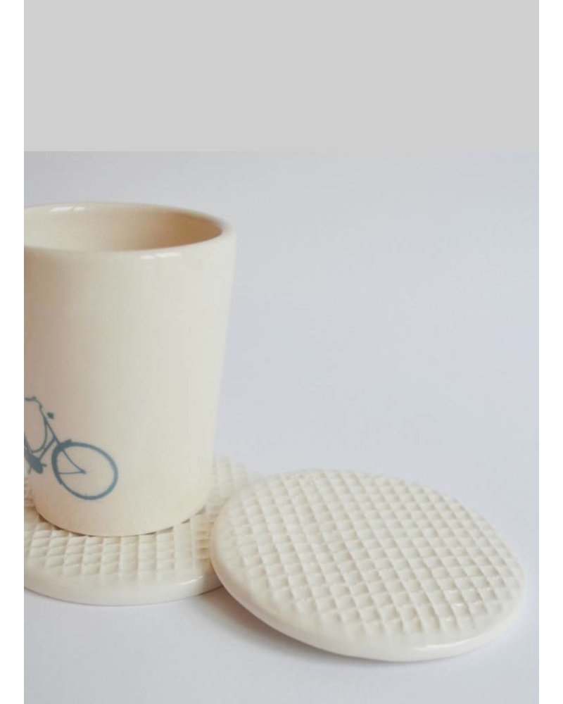 kesemy design stroopwafel coaster set