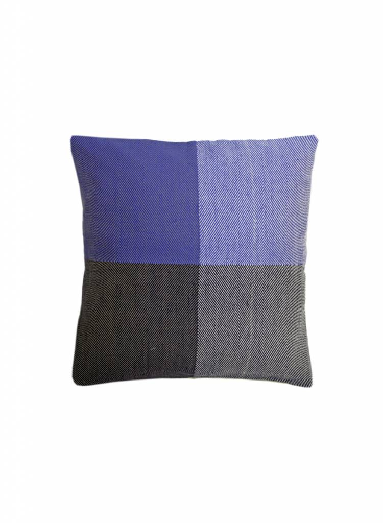 karigar cushion cover blue mix