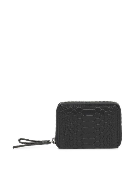 markberg compact portemonnee talia zwart python