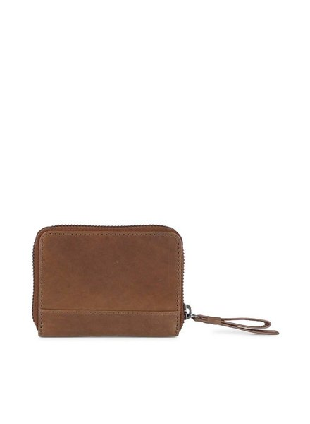 markberg compact portemonnee talia tan bruin