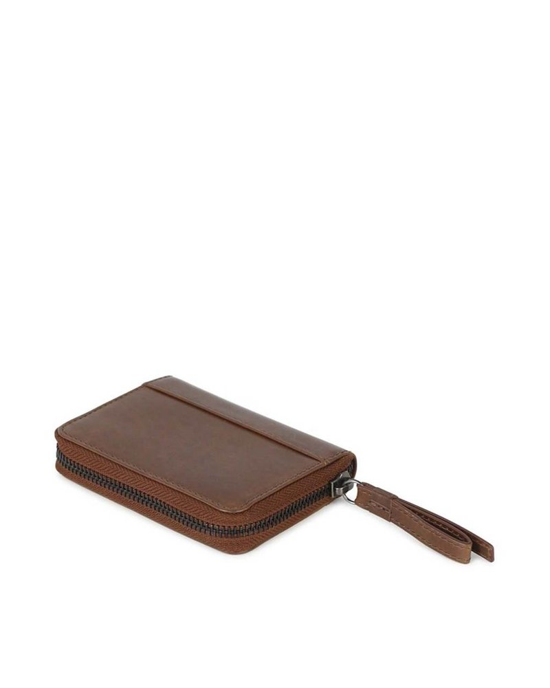 markberg compact wallet talia tan brown