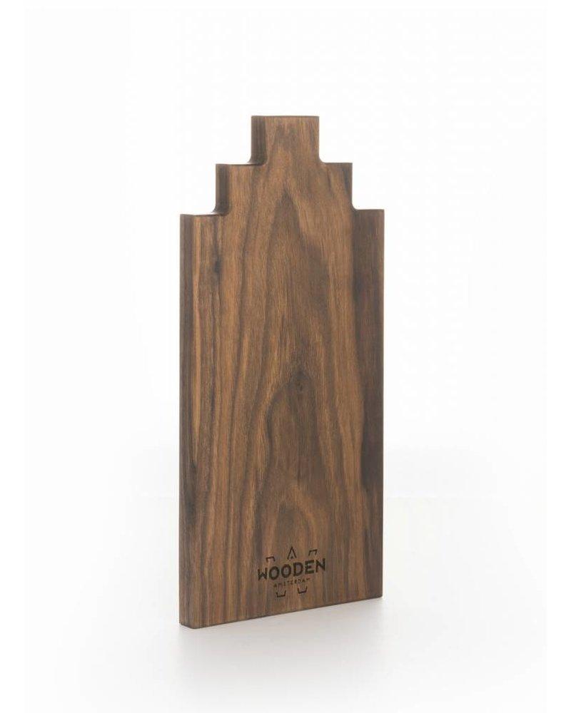 wooden amsterdam walnut serving board 30