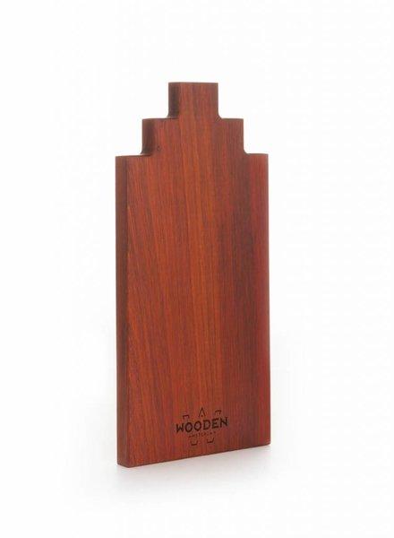 wooden amsterdam padouk serving board 30