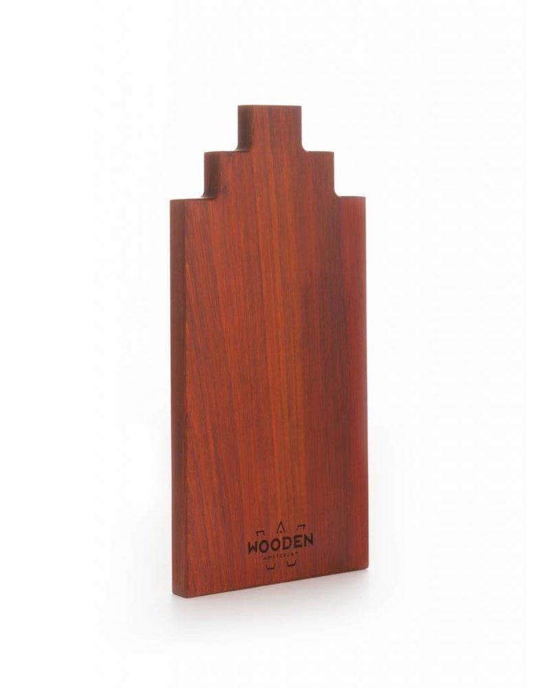 wooden amsterdam padouk serveerplank 30