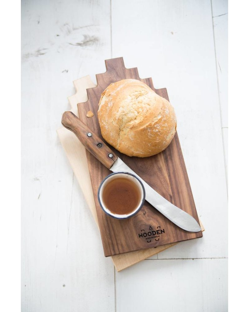 wooden amsterdam cherry  serving board 30