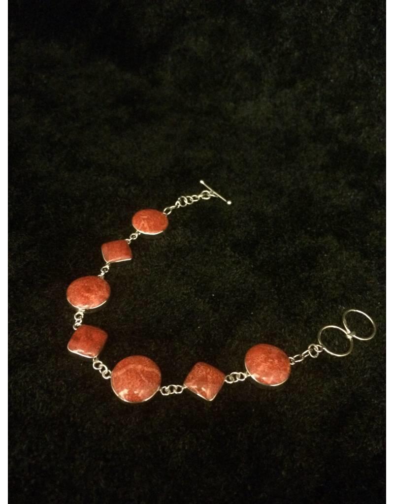 Schuimkoraal armband