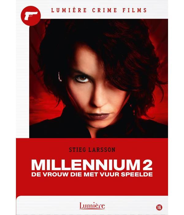 Lumière Crime Films MILLENNIUM 2: DE VROUW DIE MET VUUR SPEELDE