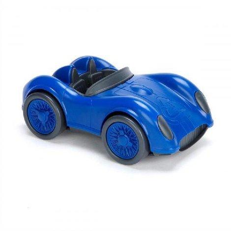 Raceauto Blauw