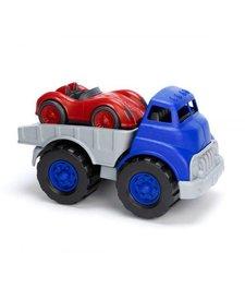 Oplegger Met Raceauto