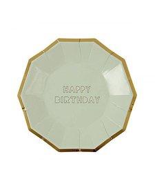 Plates Happy Birthday L