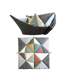 Play-Fold-Ship Blanket Multi