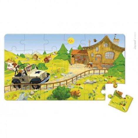 Lovely Puzzel Jack's 4x4