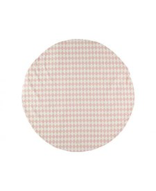 Carpet Small Pink Diamonds