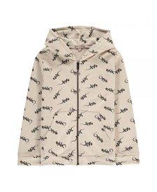 Zipped Sweatshirt Pin Lezzard
