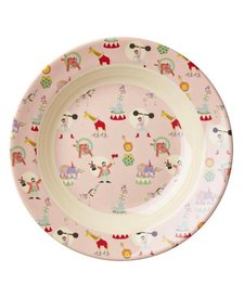 Kids Melamine Bowl With Girl Circus Prin
