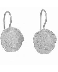 10 Cent Oorbellen Zilver BB