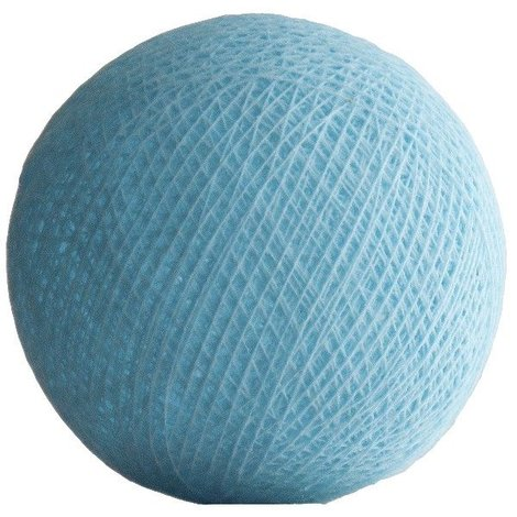 10 Cotton Ball Pale Blue