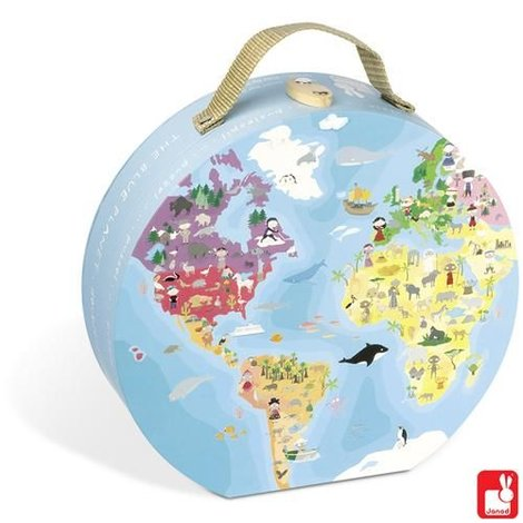 Puzzelkoffer Aarde