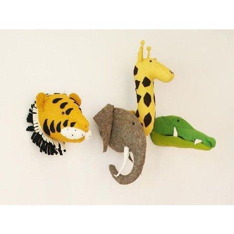 Giraffe Hoofd Vilt