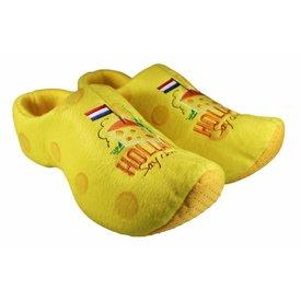 Hollandse Souvenirs Klomppantoffels - Cheese
