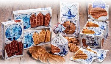 Stroopwafels, Oud-Hollands snoep en Chocolade.....